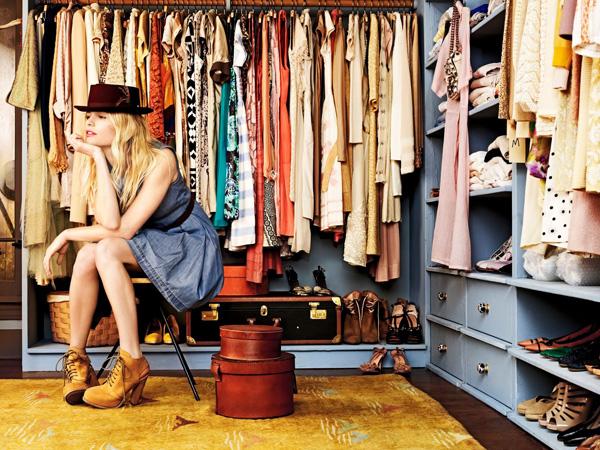 Como organizar o guarda – roupa
