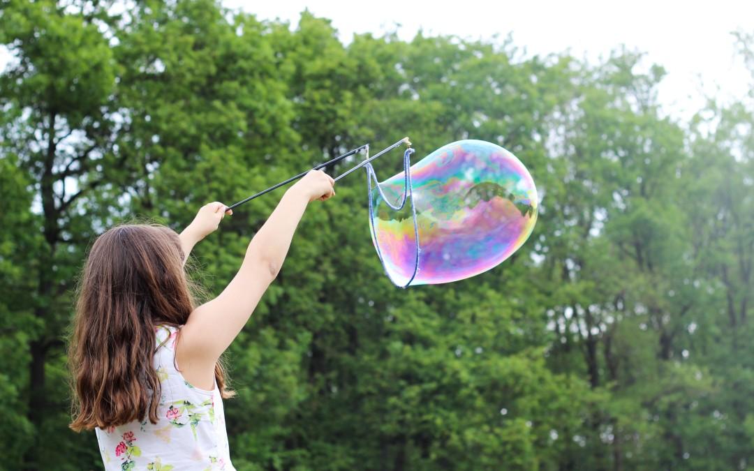 Brincadeiras criativas para as crianças